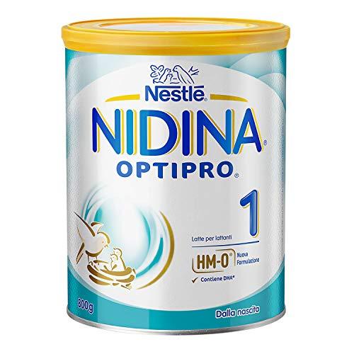 Nestlé Nidina 1 Optipro dalla Nascita, Latte per...