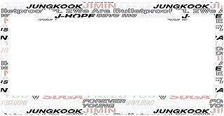Universal License Plate Frame Black, Aluminum Metal License Plate Frame for US Standard Car License Car/Motorcycle