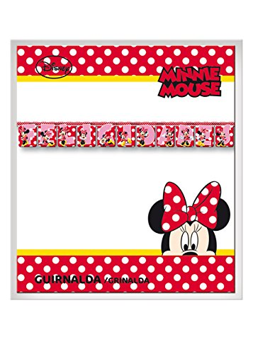 Minnie Mouse - Guirnalda felicidades lunares (Verbetena 014000349)