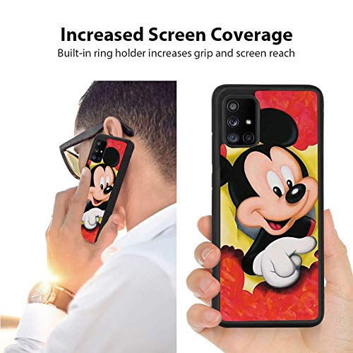 Disney Collection Disney Collection Tire Tread Samsung Galaxy A71 5g Non Slip Phone Cover Full Body Shockproof Case Mickey Wallpaper Slim Black Shell From Amazon Daily Mail