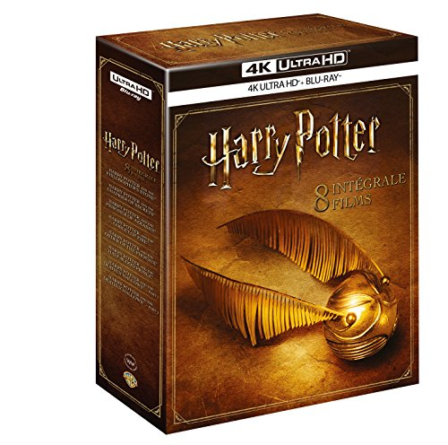 Harry Potter-L'intégrale des 8 Films [4K Ultra HD + Blu-Ray]