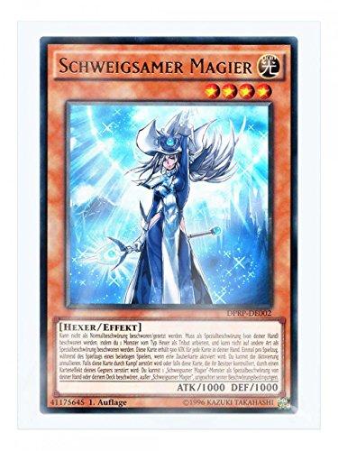 DPRP-DE002 Schweigsamer Magier 1. Auflage im Set mit original Gwindi Kartenschutzhülle