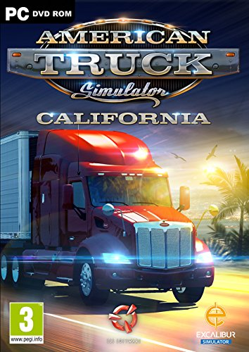 Simulador de camión americano: California – Windows (PC DVD)