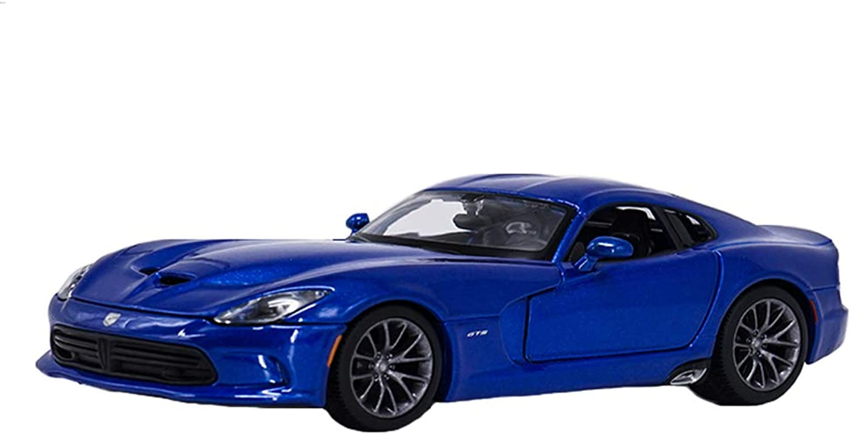 GAOQUNTOY 1 24 Dodge Viper SRT GTS Muscle Car Sports Car Simulation Alloy Car Model Decoration Original (color   RED, Size   18.5cm8cm5.5cm)