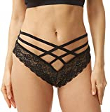 Sofishie Sexy Strappy Lace Panties - Black - XL