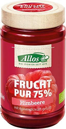 Allos Bio Frucht Pur 75% Himbeere (6 x 250 gr)