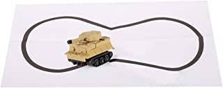 CCGTOY Gold Light Magic Mini Tank Follow Black Drawn Line Toy Car