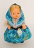 Folk Artesanía Vestido y complementos Regional típico Mallorquina Fiesta Mallorca muñeca Barriguitas de Famosa. Muñeca no incluida en el Lote.