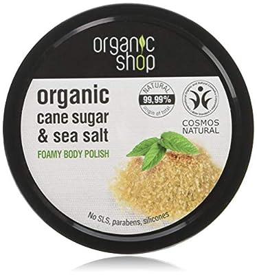 Organic Shop Cane Sugar Foamy Body Polish, 250 ml by Organic Shop