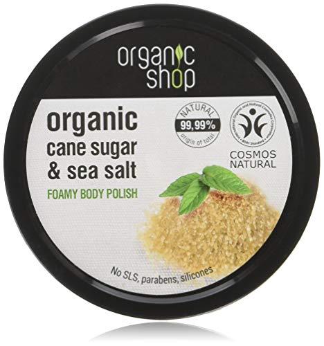 Organic Shop Caña Azúcar Exfoliante Corporal Espumoso