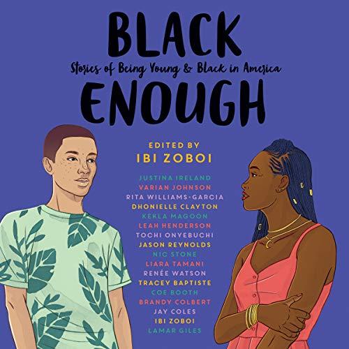 Black Enough audiobook cover art