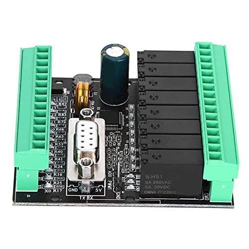ZhengELE stepper driver PLC Industrial Control Board Based on FX1N/2N-6MR/T/10/14/20MR/T WS2N-20MR-232-S(D) Programmable Logic Controller