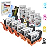 LD Compatible Ink Cartridge Replacement for Dell Series 33 & 34 Extra High Yield (2 Black, 1 Cyan, 1 Magenta, 1 Yellow, 5-Pack)