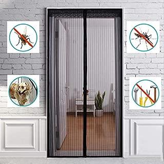 Nileco Magnetic Screen Door, Suitable for Doors Up to 27