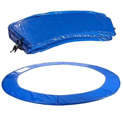 Kinetic Sports Randabdeckung für Garten - Trampolin mit ca. Ø 400 cm, Breite 28cm, UV beständig, reißfest, Outdoor und Indoor geeignet, BLAU