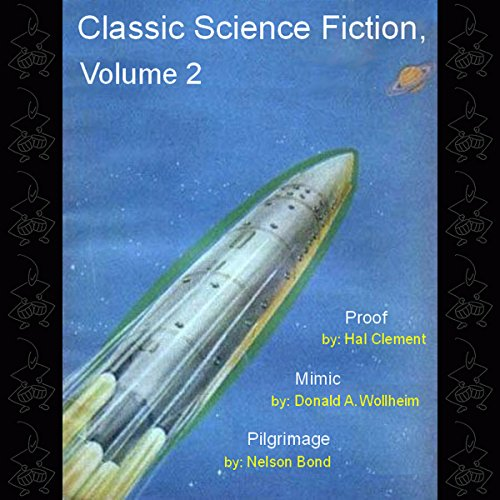 Classic Science Fiction, Volume 2 audiobook cover art