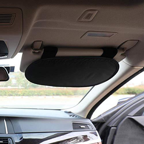 Halloween gift Car Sun Visor Extension MONOJOY Day and Night Vision Eye Protector Anti-Glare Anti-UV Anti-Dazzle Windshield Extender Car Anti Glare Driving HD Visor 1 Pack