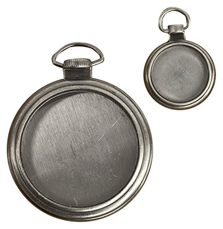 Prima Marketing Mechanicals Metal Embellishments, Clocks, 2-Pack