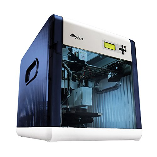 XYZprinting Stampante 3D da Vinci 1.0 (interamente Assemblata), Vol. Build 20 X 20 X 20 Cm, Design Interamente Chiuso per Abs/pla/materiali Flessibili
