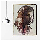 NOBRAND Arte de Pared 60x80cm sin Marco The Last of Us Game Poster Print Art Zombie Survival Horror ...