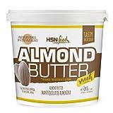 Mantequilla de Almendras de HSN con Textura Cremosa y Suave - 100% Natural - Almond Butter Smooth -...