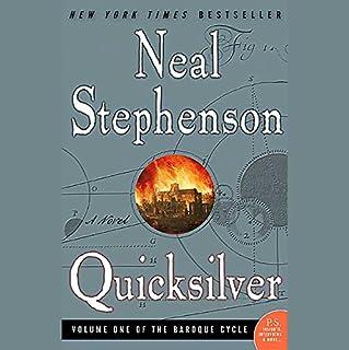 Quicksilver audiobook cover art