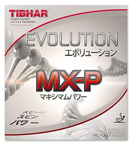 Tibhar Evolution MX-P Table Tennis Rubber (Black, 1.7-1.8)