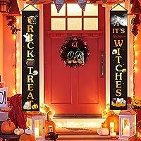 Alyvia 3 Piece Halloween Decorations Hanging Banner