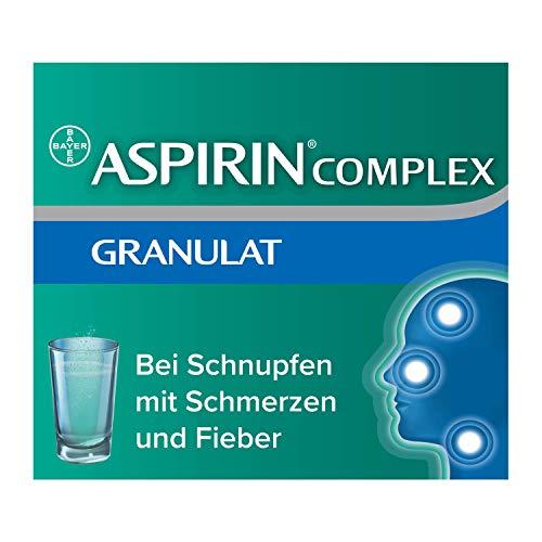 Aspirin Complex, befreit von Schnupfen und lindert schnell Erkältungsschmerzen, lösliche Darreichungsform, 20 Stück