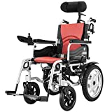 Equipo diario Silla de ruedas con reposacabezas Plegable y resistente Silla de ruedas eléctrica con cinturón de seguridad Energía eléctrica o manipulación manual La silla de transporte plegable es