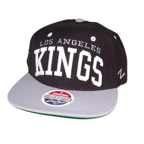 Zephyr Casquette Snapback Noir/Gris la Superstar Kings NHL os