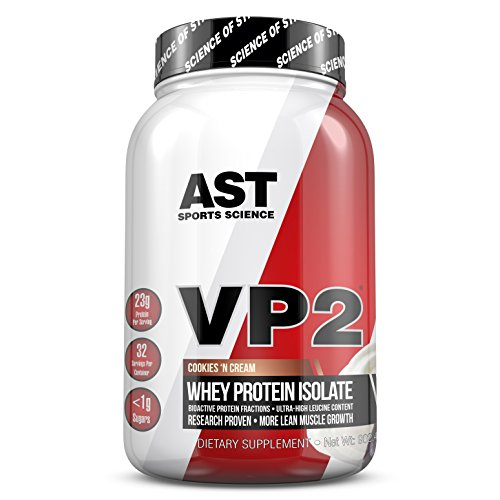 VP2 Whey Protein Isolada Hidrolisada AST-Sports Science Sabor Cookies and Cream
