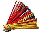GERMANUS 100 limpiadores de pipas de colores, rojo, amarillo, azul, verde,...