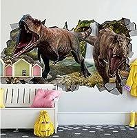 3D壁紙恐竜の立体壁画子供部屋の壁の装飾壁画モダンな写真の壁紙-250 * 175cm