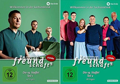 Preisvergleich Produktbild In aller Freundschaft - Die Komplette Staffel 19 (19.1+19.2) im Set - Deutsche Originalware [11 DVDs]
