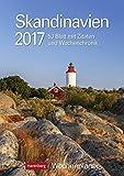 Skandinavien - Kalender 2017: Wochenplaner, 53 Blatt mit Zitaten und Wochenchronik