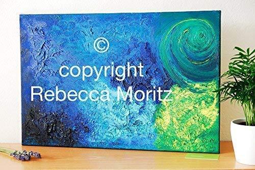 *Original* Öl auf Leinwand//Kunstbild//Gemälde//Wandbilder//Abstrakte Kunst Malerei//Ölbild//Moderne Kunst//UNIKAT - 40 x 60 cm