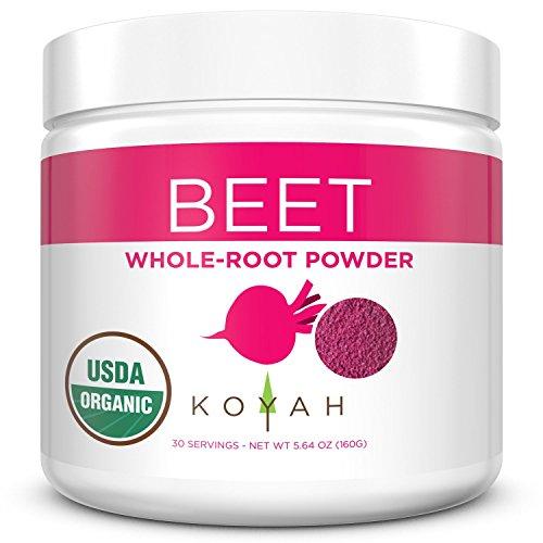 KOYAH - Organic USA Grown Beet Powder (1 Scoop =...