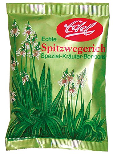 Spitzwegerich Bonbon 100 g Beutel Edel-Bonbon gewickelt