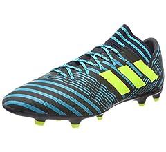 Adidas Nemeziz 17.3 FG, Botas de fútbol para Hombre, Naranja ...