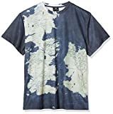 SD Toys Men's Mapa T-Shirt, Black (Negro SDTHBO89204), XL