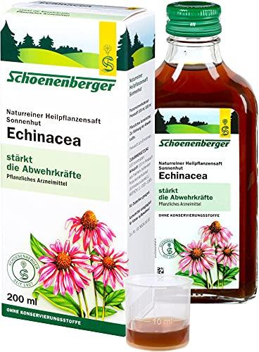 Schoenenberger Bio Echinacea, Naturr. Heilpflanzensaft Sonnenhut bio (6 x 200 ml)