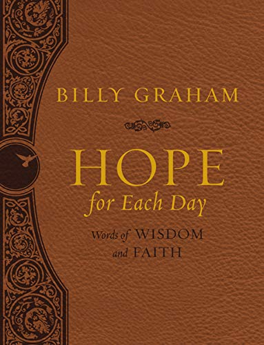 Hope for Each Day Large Deluxe: Words of Wisdom and Faith