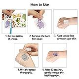 Immagine 2 matogle 24 fogli tatuaggio animale