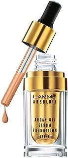 LAKME Absolute Argan Oil Serum Foundation, Honey Dew - 15 ml