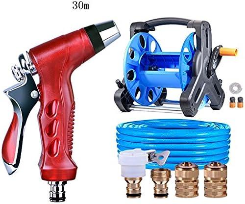 SHI XIANG SHOP Größe Hochdruck-Metall-Auto-Wasch-Wasser-Pistole Rot Multi-length Optional A+ ( Größe   25 meters )
