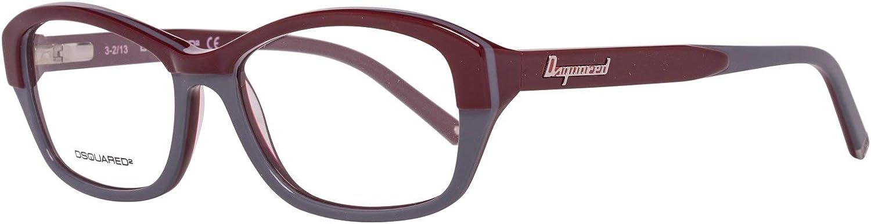 DSquared Dsquared2 Brillengestelle Dq5117 071 54 Monturas de Gafas, Multicolor (Mehrfarbig), 50 para Mujer