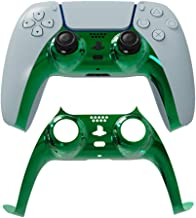PS5 Faceplate Replacement Cover, Front Housing Shell Case for Sony Playstation 5 DualSense Controller (Green 3)