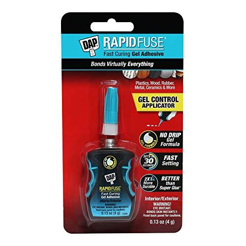 DAP RapidFuse Gel Adhesive Control Applicator, 0.13 Oz (7079800179),...