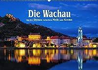 Die Wachau - An der Donau zwischen Melk und Krems (Wandkalender 2022 DIN A2 quer): Malerische Flusslandschaft in Oesterreich (Monatskalender, 14 Seiten )